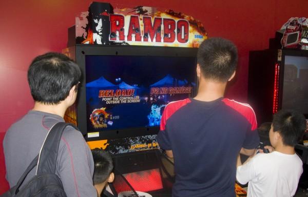 Rambo Game at Cartoon and Game Expo