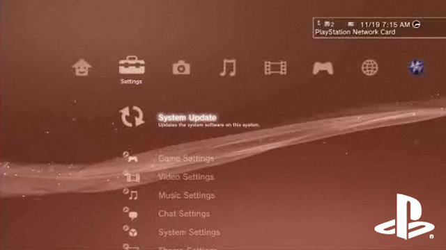 ps3 system update