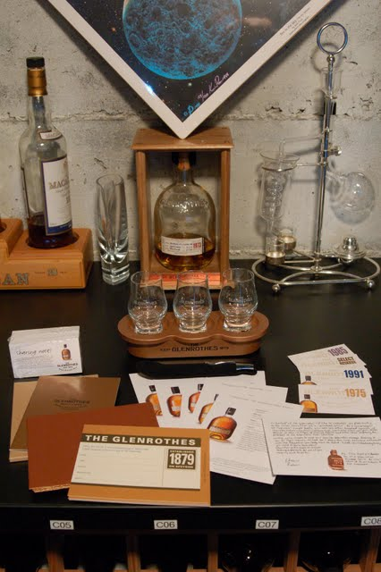 The Glenrothes Kindred Spirit tasting kit